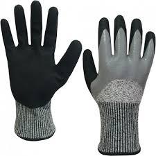 gant anti coupure cuisine gants anti coupure imperméables niveau 5 métallurgie usinage de