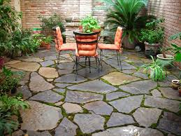 Average Cost Of Flagstone by 20 Best Stone Patio Ideas For Your Backyard Small Patio Patio