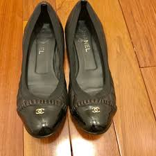 75 off chanel shoes flash sale on chanel gently used ballerina