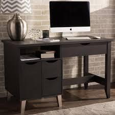 dark brown computer desk simpli home amherst dark brown desk with storage axcamh 008 the