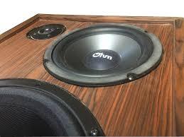 news u0026 views ohm speakers custom audiophile speakers for music