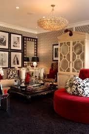 Red Damask Wallpaper Home Decor Modern Country Home Decor 11858