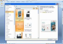 how to create a brochure in microsoft word 2010 how to create a