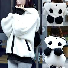 panda sweater 2018 2016 plus velvet sweater panda