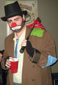 Halloween Hobo Costume Hobo Clown Costume 9 Steps