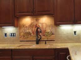 Kitchen Tile Backsplash Murals Decorative Tile Backsplash Kitchen Tile Ideas Olive Jars