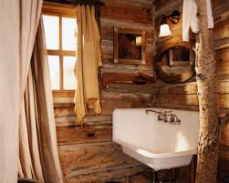 rustic cabin bathroom ideas cool cabin bathroom ideas with rustic living room ideas on a