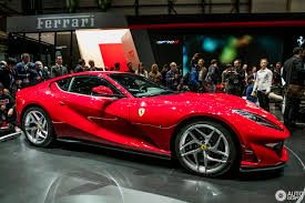 car ferrari 2017 geneva 2017 ferrari 812 superfast