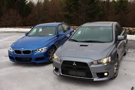 2014 Mitsubishi Lancer Evolution X Jekyll U0026 Hyde Bmw 335i Xdrive Vs Mitsubishi Evo Mr U2013 Limited