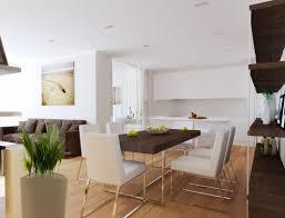 Open Plan Kitchen Floor Plan by Plain Living Room And Kitchen Best Small Open Plan Design Ideas
