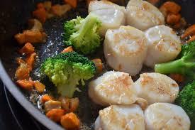 cuisiner les brocolis la cuisine des trois sœurs coquilles jacques déclinaison