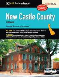 Newark Zip Code Map by New Castle Delaware Street Atlas Adc The Map People