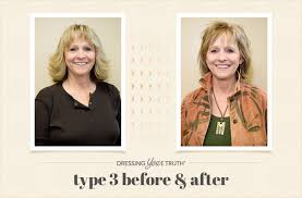 dressing your truth type 3 hairstyles lisa s dynamic dressing your truth type 3 makeover dyt before