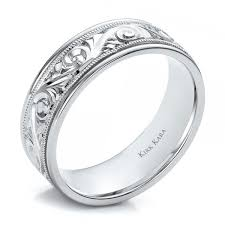 carved wedding band engraved mens wedding rings best wedding products and wedding ideas