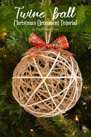 twine ornament tutorial the crafting nook by