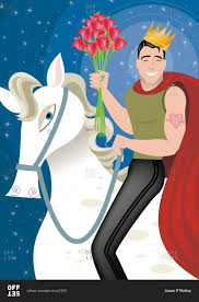 Prince Charming by Handsome Prince Charming Muscle Man On White Horse With A Crown