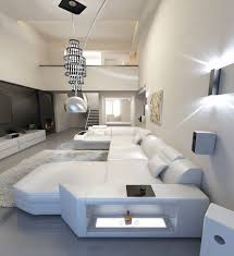 Big Sofa by Big Leather Sofa Presto U Shaped Illuminated Sectional Sofa Led Ebay