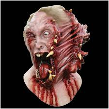 siamese zombie latex mask mad about horror