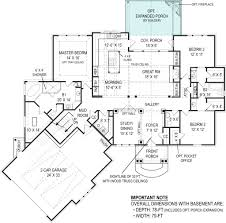 2 Floor Villa Plan Design Presente Small Rustic House Plans Open Home Floor Plan