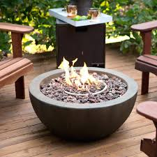 Portable Gas Firepit Pit Portable Gas Pit Bowl With Free Cover Calgary