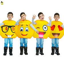 emoji costume aliexpress buy new arrivals emoji costumes kids