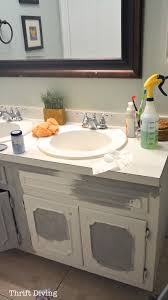 Bathroom Vanity Paint Ideas by How To Paint A Bathroom Vanity Room Design Plan Contemporary To