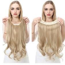 headband hair extensions extensión de cabello remy ondulado alambre invisible alambre