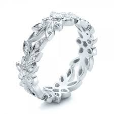 flower band flower eternity band 101873 bellevue seattle joseph jewelry