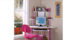 pink finish corner workstation kids children u0027s youtube