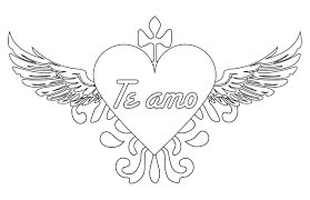 imagenes de amor para dibujar grandes pagina para colorear de corazones opticanovosti 71aa5d527d71