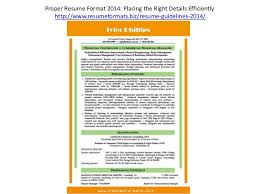 great resume layouts resume formats
