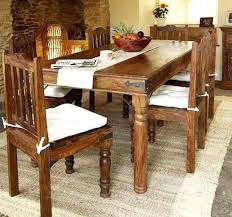 dining table wooden dining table with glass top price india