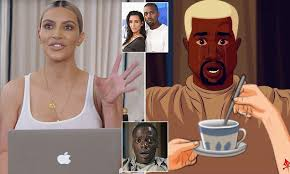 Dancing African Baby Meme - kim kardashian blasts kanye west get out memes in new video daily