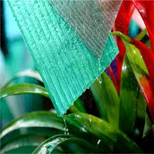 Lexan Awnings Plastic Material Colored Cellular Roofing Sheet Skylight