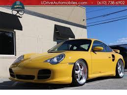 gemballa porsche 2002 porsche 911 996 turbo gemballa biturbo 8k miles 6spd k24s