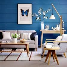 Creative Wall Design In The Living Room  Ideas For Colorful - Creative living room design