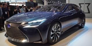 lexus lx new concept lexus lf fc concept previews next ls 2015 tokyo motor show is the