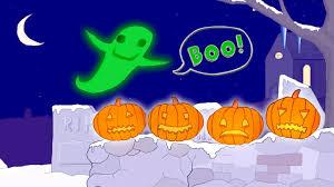 10 spooky pumpkins counting song classic nursery rhyme sing
