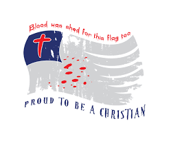 Christian Flag Images Bold Serious T Shirt Design For Outlaw Llc By Pakneslow Design