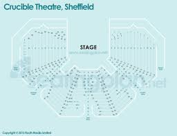 crucible theatre seating plan