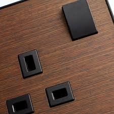 designer light switches dimmers and electrical sockets mk elements