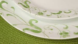 corelle spring faenza 16 piece dinnerware set youtube