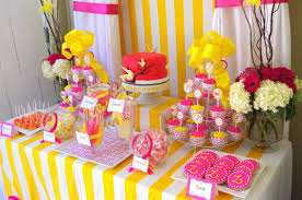 Baby Shower Sweets And Treats Dessert Candy Buffet Station Kid Cupcakes Cookie Party A Rivera