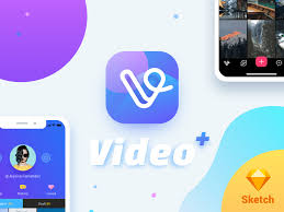 video plus for iphone x freebie download sketch resource