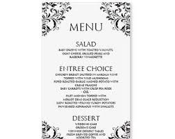 wedding menu templates the 25 best wedding menu template ideas on rustic