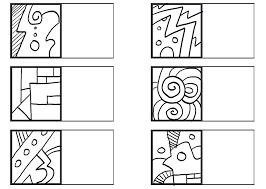 in the first square make an u201coriginal doodle u201d then u201cmatch u201d from