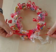 how to make candy leis oh nuts