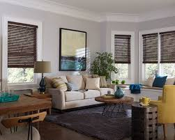2 Faux Wood Blinds Bella View Legacy 2
