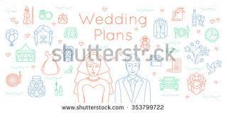 wedding plans free wedding plan icon vector free vector stock