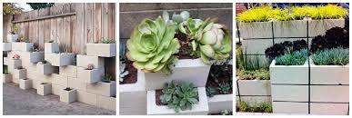 handmade wednesday cinder block garden planter